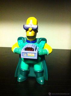 Figura de Hommer Simpson - Burger King - con luz (Juguetes - Figuras de Goma y Pvc - Otras)