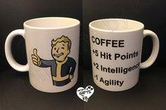 Fallout 4 Mug, Custom Photo Mug, Gamer mug, Fall out 4 Mug, Anniversary gift, Christmas Gift, Personalized Mug, any photo mug