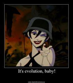 """Extrait du clip """"Evolution"""" de Pearl Jam, dessin par Todd McFarlane auteur du comics Spawn"""