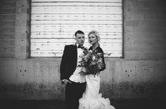 Edgy wedding ideas | Chantel Marie Photography | see more on: http://burnettsboards.com/2014/06/edgy-femininity-black-blush-wedding/