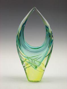 Murano sommerso glass vase Murano sommerso glass vase by art-of-glass, via Flickr