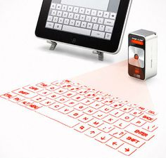 I love the concept of virtual keyboards and touch surfaces.