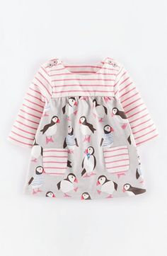 Mini Boden 'Hotchpotch' Cotton Dress (Baby Girls) available at #Nordstrom