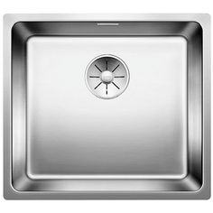 BLANCO ANDANO Stainless Steel Kitchen Sink Left Hand Bowl A symphony in stainless steel Unique composition of visual and functional Blanco Kitchen Sinks, Blanco Sinks, Kitchen Taps, New Kitchen, Kitchen Ideas, Kitchen Design, Sink Taps, Undermount Sink, Best Appliances