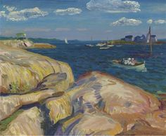 A Gloucester day by John French Sloan