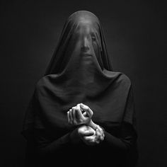 At the meeting, women were black veils that hide all their features. Even their eyes. They were mindless beings following a cruel leader. ~ Chapter Thirteen