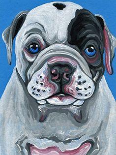 ACEO ATC American Bulldog Puppy Original Painting Dog Art... https://www.amazon.com/dp/B075NMBXF1/ref=cm_sw_r_pi_dp_x_kM63zb8QVRMN7