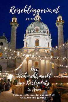 Der Weihnachtsmarkt am Karlsplatz in Wien