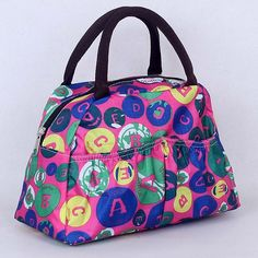 Pattern Lunch Bag Lunchbox Waterproof Neoprene