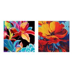 Floral Awakening series (part I) #art #abstract #artist #artwork #colorful #creative #art_help #art_empire #flowers #floral #painting #acrylicpainting #acrylic #floralpaintings