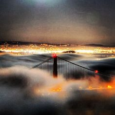 Some of our favourite #Instagram photos from around San Francisco and the Golden Gate Bridge #SF #California