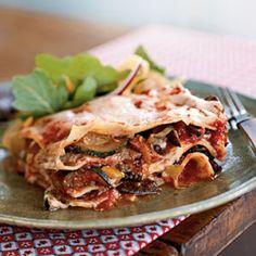 Colorful Vegetable Lasagna | MyRecipes.com