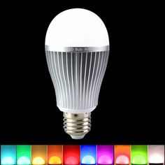 Milight Dimmable E27 9W RGBW LED Smart Bulb 2.4G Wireless WiFi APP Control Lamp AC86-265V