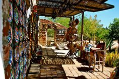 One of the many shops in Todos Santos, Baja California Sur, Mexico... a town where many artists sell their goods.