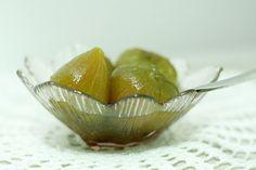 Coisas da Léia - Resgate de boas sensações: Doce de Figos Verdes em Calda