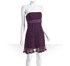 plum cotton lace...