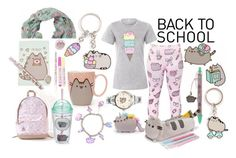 """""""back to school"""" by paulapirez ❤ liked on Polyvore featuring Pusheen"""