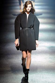 Lanvin Fall 2012 Ready-to-Wear Fashion Show - Montana Cox