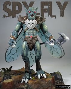 Spy Fly (Masters of the Universe) Custom Action Figure