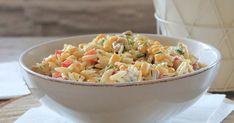 Sałatka z makaronem i kurczakiem Fried Rice, Fries, Grilling, Salads, Ramadan, Ethnic Recipes, Food, Recipies, Kids