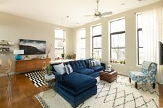 House Tour: A Condo in a Former Elementary School | Apartment Therapy