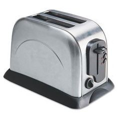 2-Slice Toaster with Adjustable Slot Width, Stainless Steel by Coffee Pro. $40.62. Two slice capacity for less active kitchens. Adjustable slot width that can accommodate a variety of breads, including bagels. Features electronic control panel with variable heat settings. Easy-clean surface and tray for quick crumb disposal. Number of Slices: 2; Capacity (Volume): N/A; Width: 7 1/2 in; Depth: 11 1/2 in.
