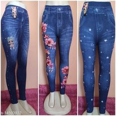 Jeggings Trendy Stylish Women Jeggings Fabric: Cotton Blend Pattern: Printed Multipack: 3 Sizes:  30 (Waist Size: 32 in, Length Size: 37 in, Hip Size: 32 in)  Sizes Available: 28, 30, 32 *Proof of Safe Delivery! Click to know on Safety Standards of Delivery Partners- https://ltl.sh/y_nZrAV3  Catalog Rating: ★4 (7701)  Catalog Name: Designer Glamarous Women Jeggings CatalogID_1531903 C79-SC1033 Code: 454-14593932-