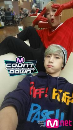 GOT7 BamBam & Mark // Mnet Countdown - 'Just Right' Comeback 07.16.15