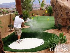 Tour Greens | Backyard Putting Green Photos                              …