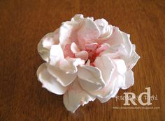 Happy Friday, blog peeps! As promised, I have the tutorial on what I'm calling the Peony Flower that I created on this post . I really lov...