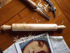 Luxury ITALIAN PASTA MAKER rolling pin hand di FlorentineTouch