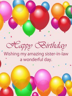 Happy Birthday For Her, Sister In Law Birthday, Happy Birthday Flower, Happy Belated Birthday, Happy Birthday Pictures, Happy Birthday Greetings, Birthday Greeting Cards, Birthday Wishes For Kids, Birthday Verses