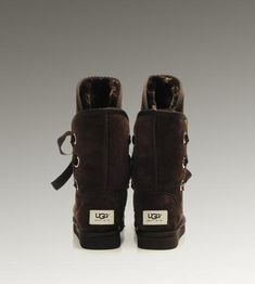 UGG Roxy Shortl 5828 Chocolate Boots For Sale In UGG Outlet - $104.04
