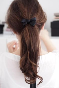 Simple but cute ;) #Hair #Style #Simple