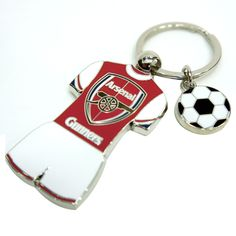 Arsenal F.C. Jersey Keychain - Rs. 499 Official#Football #Merchandisefrom#EPL