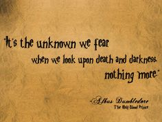 Harry Potter and the Half-Blood Prince | Community Post: 10 Life-Changing Quotes From Albus Dumbledore