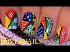 Nail Art Design Tutorial Inspired By Britto