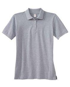 Black Port Authority Ladies 3//4-Sleeve Meridian Cotton Blend Polo XXX-Large