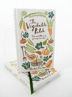Veg patch book cover, Debbie Powell
