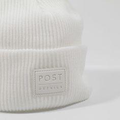 Post Classic Beanie V2 white