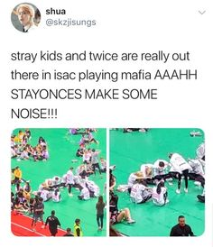 this is way too cute somebody hold my uwus // sigh when will i ever experience playing mafia w 18 ppl<br> Funny Kpop Memes, Kid Memes, Got7 Funny, K Pop, Exo, Baekhyun, Steven Universe, Im Jealous, Def Not
