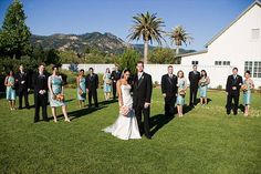 Love this shot on the Event Lawn at Solage Calistoga
