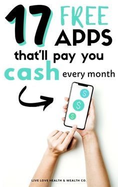 Make Money Today, Make Money From Home, Way To Make Money, Apps That Pay You, Earn Money Online, Earning Money, Win Money, Productivity Apps, Making Extra Cash