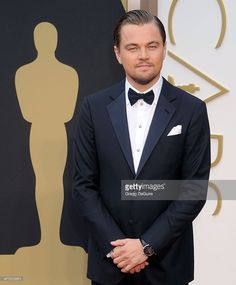Actor Leonardo DiCaprio arrives at the 86th Annual Academy Awards at Hollywood & Highland Center on March 2, 2014 in Hollywood, California.