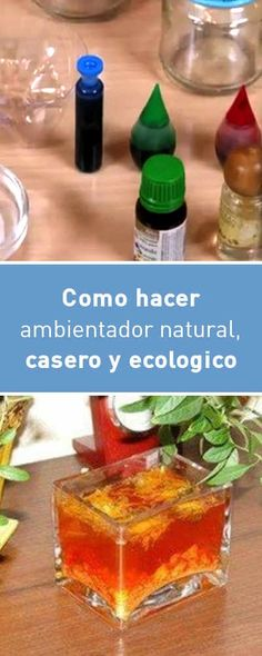 Como hacer ambientador natural, casero y ecologico. ¡Fácil y barato! Diy Cleaning Products, Cleaning Hacks, Limpieza Natural, Diy Cleaners, Home Made Soap, Natural Cosmetics, Clean House, Diy And Crafts, Diy Projects