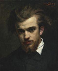 1861 Portrait of Henri Fantin-Latour by Carolus-Duran 1861 oil on canvas 45.7 x 37.6 cm