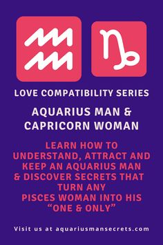 Hey there beautiful Capricorn lady! I believe you are here for a reason: you want a committed relationship with that Aquarius man in your life. I've consulted many clients with this special combination and have helped them find a way to align their stars and make it work after all. I can help you too, just keep reading.