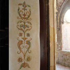 Classic European and Italian Design - Door or Furniture Panel Stencils - Royal Design Studio
