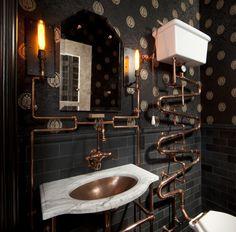 96 best steampunk bathrooms images bathroom bath room steampunk rh pinterest com Steampunk Inspired Bathrooms Steampunk Inspired Bathrooms