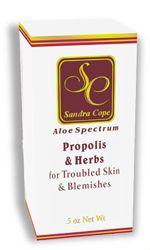 a serum from local skin care guru sandra cope that keeps skin supple and acne-free